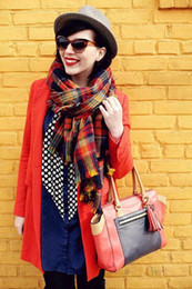 Christmas Party Price new2014Unisex Tartan Scarf Wrap Shawl Plaid Cozy Checked pashmina Lover clothes
