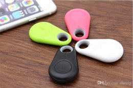 Wholesale New Smart Bluetooth Anti lost alarm Tracker GPS Locator kids Wallet Key Pet Dog finder for iPhone Samsung Android