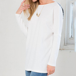 2015 new Wing Back O-neck Long-sleeved T-shirt Fashion Angel Cotton Plus Size T-shirt