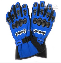 Blue & Black Tanked Racing TCV22-1 Motocross Motorcycle Gloves Racing Gloves Bike Cycling Gloves