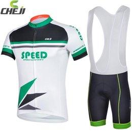Wholesale New Arrival CHEJI Cycling Comfortable Jerseys Breathable Cycling SPEED Jerseys Sets Pro Cycling Jersey Bianchi Jerseys