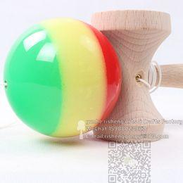 20pcs NEW rainbow kendama rasta kendama three colors for adult Boutique