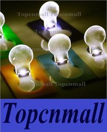 2017 des vacances mini-lumières Card Wallet Pocket Portable LED carte de crédit Night Light Lamp lampes de mini carte mignonne de mariage / vacances cadeau Mini Night Light des vacances mini-lumières ventes