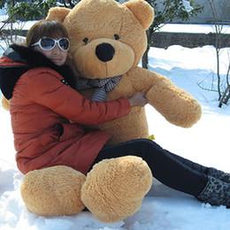Promotion ours saint valentin cadeau géant Cadeau du jour de Big Bear en peluche Poupée géant Teddy Bear cadeau de mariage de nouvelle 160cm Valentine Ou vygh7o cadeau d'anniversaire