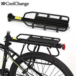 Wholesale CoolChange Aluminium Alloy Bicycle Carrier Rack MTB Mountain Bike Cargo Racks Mount Rear Seat Post Rack Bearing kg