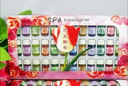 Wholesale 36bottles box Natural Spa Essential Oil for Aromatherapy with kinds of Perfume Fragrance ml bottle Oil