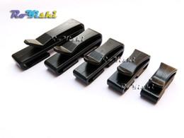 Wholesale 100pcs Black Quick Slip Keeper Buckle Webbing Ending Clip For Backpack Adjusting Strap