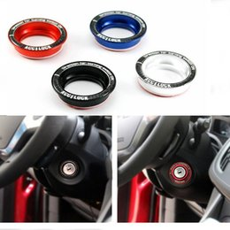 Wholesale Car ignition switch decoration key hole protector cover ring sticker for Ford Escape