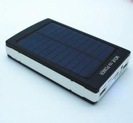 50000mah Солнечный банк питания зарядное устройство 50000 мАч панели солнечных батарей двойной зарядки Порты портативный банк силы для всех сотовых телефонов таблица PC MP3 от Производители портативное зарядное устройство панель солнечной батареи