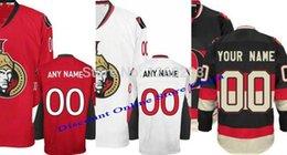 Wholesale 30 Teams Best Quality Cheap Custom Ottawa hockey Jerseys Personalized Number Name embroidered logo Senators Ice Hockey Jersey