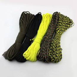 Wholesale Wholesales Parachute Cord Lanyard Rope Climbing Camping Survival Equipment Mil Spec Type MA0072 salebags
