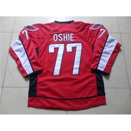 Wholesale Red Capitals TJ Oshie Hockey Jerseys Cheap Newest Ice Hockey Wear Hot Sale Athletic Outdoor Jersey Stitched Ice Hockey Jersey for Men