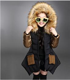 Parkas girl clothing brand kid clothes 2015 winter children outerwear coats princess jacket children's wear Cotton-padded clothes vestido