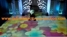 Wholesale Hot Interactive Floor System Interactive Foor Projection Interactive Floor Projector with Effects