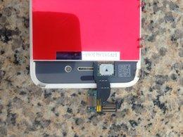 DHL liberan la asamblea de la exhibición de Digitaces de la pantalla táctil del reemplazo de Digitaces de la pantalla táctil + de Dust Mesh + Frame para el iPhone 4 4G / CDMA / 4S desde iphone 4s conjunto completo proveedores