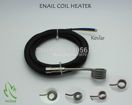 Wholesale ENAIL COIL HEATER THERMOCOUPLE K BLACK SLEEVE SUPPORT CUSTOM