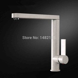 Wholesale Hot Promotion Chocolate Sand Beige Matte Black Granite Kitchen Faucet Sink Mixer Tap