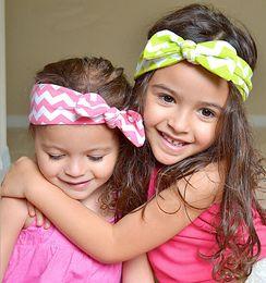 Wholesale Hot Sale Children Infant Head Wear Hair Headbands Children Hair Accessories Newborn Hair Bands Bunny Wave Stripe Heandbands Rabbit Ear P09Q2
