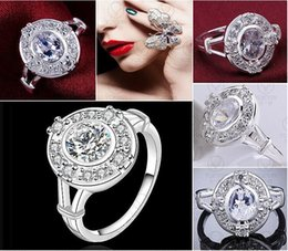 Brand new Christmas gift 925 Sterling Silver ring gem rings DFMR480-8 Silver new finger ring for lady