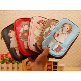 Wholesale stationery vintage cute pencil case multifunctional big capacity pencil box stationery bags kawaii school supplies chair diary