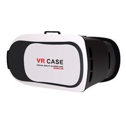 Vente en gros en gros de lunettes vidéo virtuelles virtuelles Véritable réalité 3D Vr Lunettes pour 4,5 ~ 6 pouces Smartphones pour films et jeux 3D Vr Box à partir de jeux vidéo bon marché fournisseurs