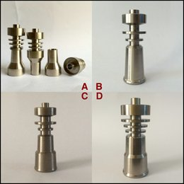 Wholesale big discount mm in mm mm mm mm mm domeless Gr2 titanium nail very polished and easy to clean used for glass bong