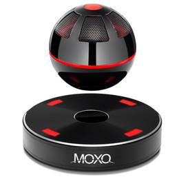 Magnetic levitation suspending flowing moxo Mini bluetooth speaker home wireless NFC speaker audio nfc For Phone pad