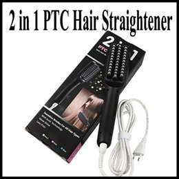 Wholesale MX in PTC Heating Ionic Hair Straightener Seamless Bristles for all hair types vs beautiful star nasv