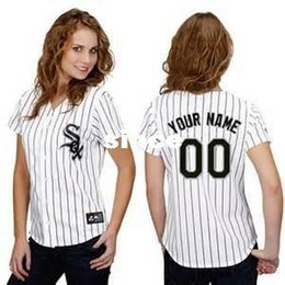Wholesale 30 Teams Customized Chicago White Sox jersey womens baseball jerseys shirt custom logo Personalized Stitched bests by dr china S XXL