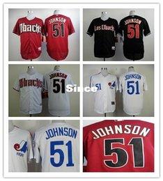Wholesale 30 Teams High quality Randy Johnson Baseball jersey Arizona Diamondbacks jersey S XL fast air freight