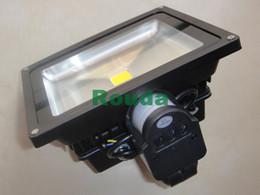 led floodlight 30w 50w 20w 10w pir led sensor lights epistar 110-120lm w led outdoor waterproof