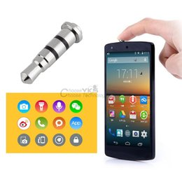 Wholesale 3 mm Smart Key Button Dustproof Headset Dust Plug for Android Smartphone YKS