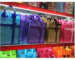 Wholesale 100 pieces Non Woven Bag Large Zipper Environmental Protection Shopping Bag Gift Bag Students Tutorial Bag