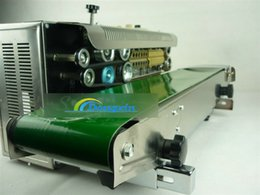 Wholesale 2015 hot Steel wheel printing continuous plastic bag sealing machine code date batch number can be printed
