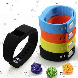 Promotion activité smartband tracker Rubber Band bracelet Tracker activité de remise en forme en gros-étanche pour TW64 Smartband Bracelet Accessoires Remplacer Strap Non Puce