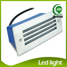 LED Recessed Wall Lights Led Stair Light 3W Led Wall Lamp Night Light Led Step Light Recessed Floor Light Waterproof Outdoor Wall Lamps