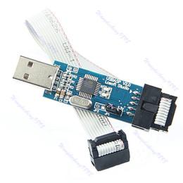 Wholesale New pc USB ISP Programmer For ATMEL AVR ATMega ATTiny Development Board