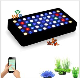 Wholesale NEW led aquarium light w wifi control Dimmable Full spectrum for coral reef fish Tank stock in Germany USA