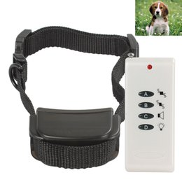 Wholesale White Vibrate Remote Control Small Dog Training Collar System LIF_909