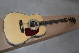 Wholesale 2015 New Hot custom D real Abalone Shell ebony guitar on sale sound good high quality acoustic guitar