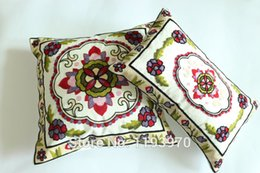 Fashion thick fabric decorate embroidered Pillow Case rectangle Pillow Cover square bolster Case decorative pillows