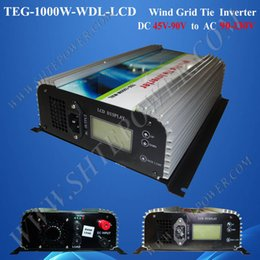 72V 130V wind grid tie inverter ,wind turbine 1000w converter,dc to ac inverter