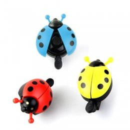 Wholesale Bicycle Road Moutain Bike Cycling MTB Handle bar Handlebar Ladybug Ladybird Metal Alarm Ring Sound Bell Horn