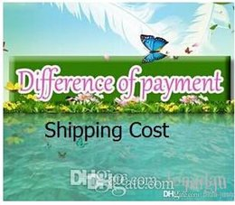 Shipping Cost   Difference of payment