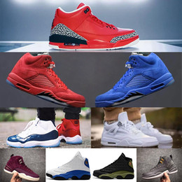 Retro 3 Grateful 5 red blue suede 11 Gym Red Chicago Midnight Navy WIN LIKE 82 UNC 12 Bordeaux Men Basketball Shoes Sneakers