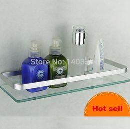 Wholesale Shelf support size cm Space Aluminium Shower Door Rollers Bathroom Towel Hook Bathroom Glass hardware accessory