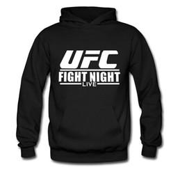 Wholesale Sanshou Wushu Kungfu boxing MMA UFC fighting unlimited sweater hedging male plus velvet winter sweatershrit coat