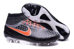 Wholesale Nike Men s Magista Onda Fg Poiso Soccer Cleats Sock Boots Superfly Shoes Football Shoes Black black Rough Green Hyper Crimson
