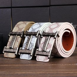 Wholesale 2016 new Best Quality First Class real Mens black designer Belts For Men Luxury Belts Alloy Buckle