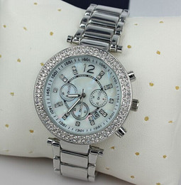 Wholesale luxury famous designer women rhinestone watches fashion luxury Brand Dress Michael ladies watch Dropship mmkk h